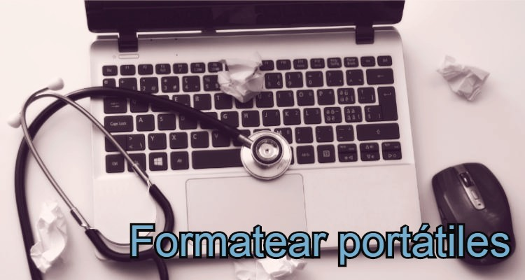 formatear portátil
