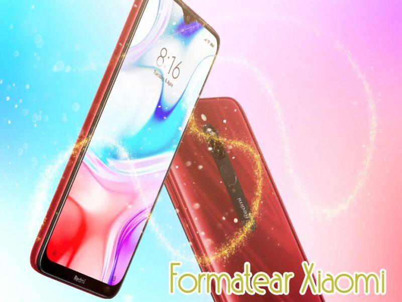 Formatear Xiaomi