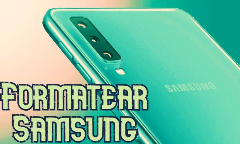 formatear Samsung