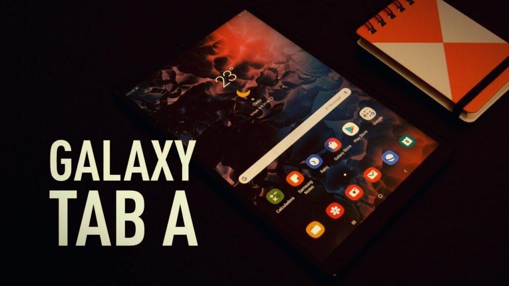 formatear Galaxy Tab A