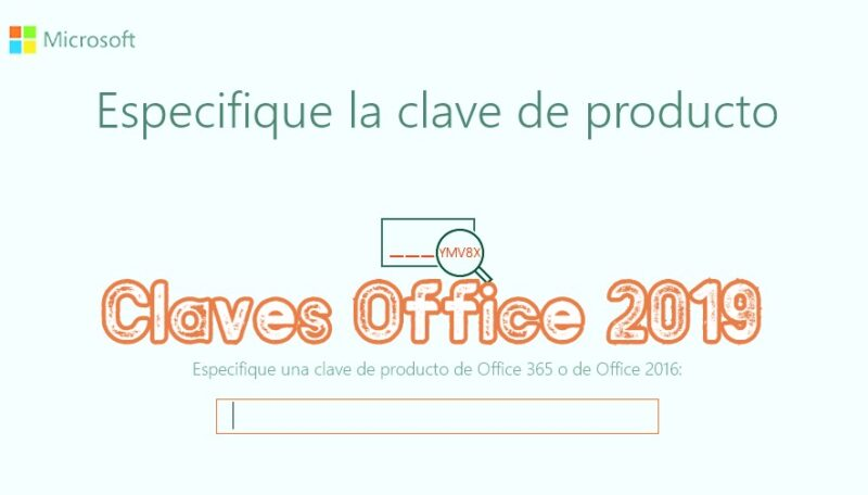 Claves office 2019