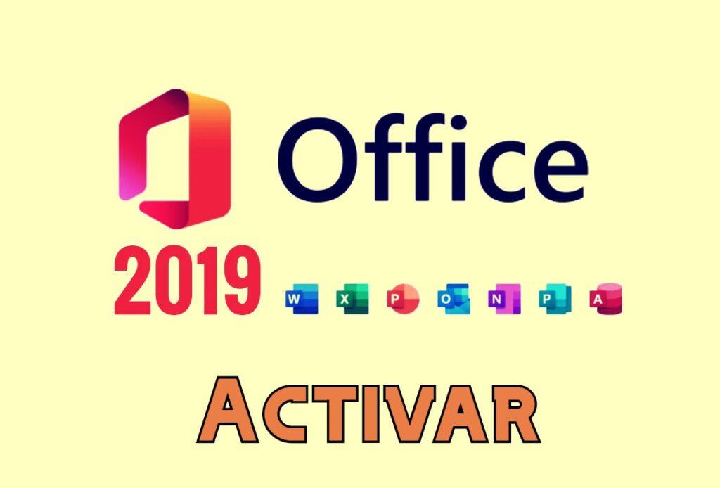 Activar Office 2019